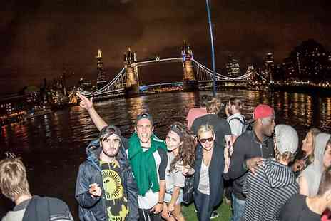 Hurlingham cruises - Christmas Boat Party Hire with DJ and Optional Drinks   - Save 53%