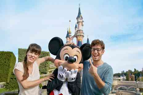 Disneyland Paris   - Two Night stay with Return Coach, Ferry and 1 Day Park Pass For One - Save 34%