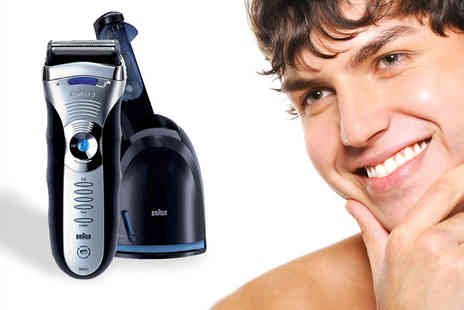 clear chemist - Braun Electric Shaver With Cleaning System - Save 59%