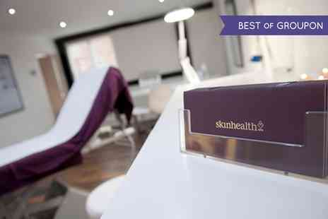 Skin Health Spa H O - Three Sessions  of Laser Hair Removal - Save 71%