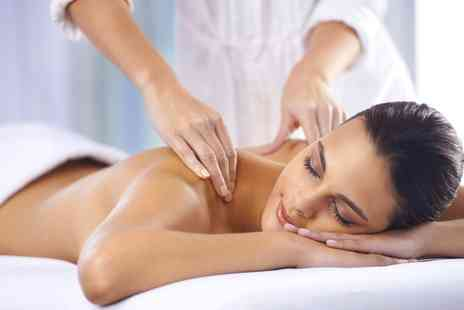 Revive Hair and Beauty  -  Back, Neck and Shoulder Massage Plus Shellac Manicure  - Save 60%