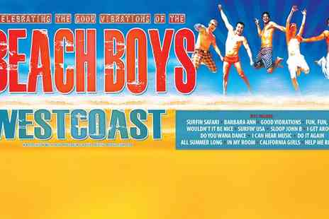 ATG Tickets - Westcoast: Music of the Beach Boys  - Save 39%