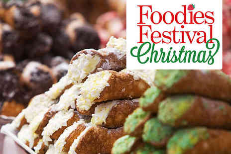Old Truman Brewery - Foodies Festival Christmas with Show Guide and Chef Demonstrations - Save 0%