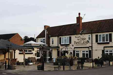 Ye Olde Red Lion - A traditional two night stay  - Save 59%