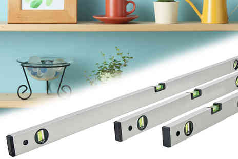 Plus Bee.com  - Three Piece Spirit Level Set - Save 0%
