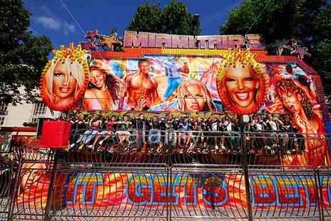 Funfair Rides - Four hour hire of one childrens funfair ride  - Save 50%