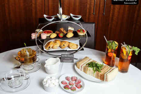 Number Twelve - Afternoon Tea with Glass of Pimms Each for Two  - Save 53%