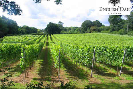 English Oak Vineyard - Vineyard Tour with Sparkling Wine Tasting for One  - Save 0%
