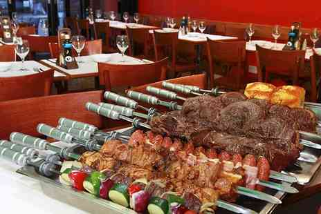 Rodizio Brazil - All You Can Eat Rodizio Barbecue Meal For One with Wine   - Save 0%
