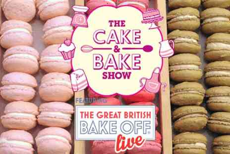 The Cake and Bake Show - Two adult tickets to the Cake and Bake Show - Save 0%