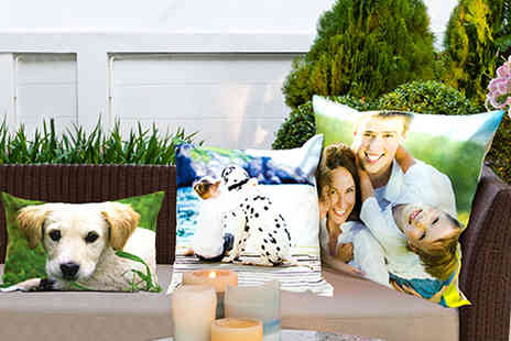 Dip Into Sales - Personalised photo cushion  - Save 60%