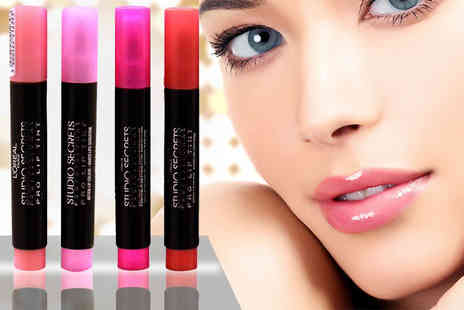 Quick Style - Four piece L'Oréal Studio Secret Lip Tint Set - Save 80%