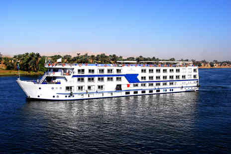 Tempting Holidays - Seven night full board Egyptian cruise along the River Nile - Save 60%