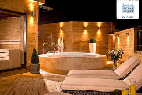 Mottram Hall - Luxury Spa Day with Choice of Two Treatments and Access to Spa Facilities for Two - Save 51%