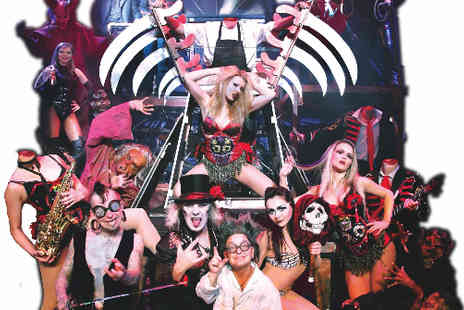 The Circus of Horrors -  Tickets to The Circus of Horrors Welcome to the Carnevil - Save 50%