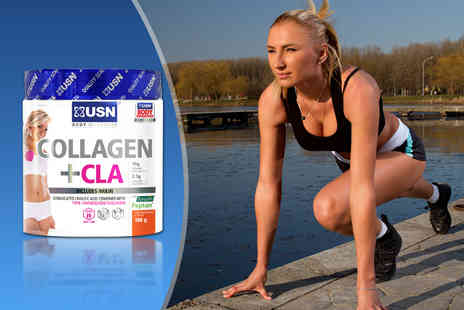 USN -  180g of collagen and CLA drink powder - Save 60%