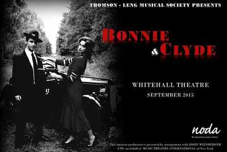 Thomson-leng Musical Society - Tickets to Bonnie and Clyde on 17 September  - Save 46%