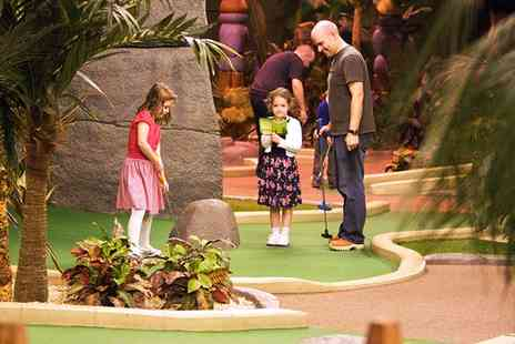 Paradise Island Adventure Golf - 18 Golf Holes For Two - Save 40%