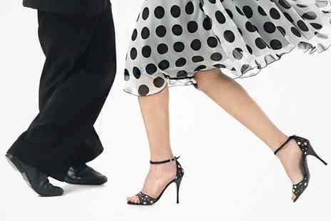 Lindy Jazz - Three Swing Dance Lessons for One  - Save 83%