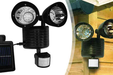 Plus Bee - Solar LED Security Light - Save 0%