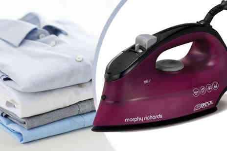 Giddy Aunt - Morphy Richards Breeze Ceramic Steam Iron - Save 56%