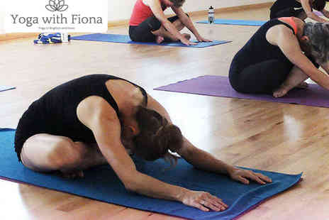 Yoga with Fiona - One Month of Unlimited Yoga Classes - Save 62%