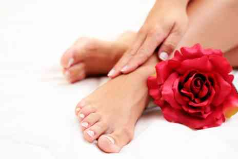 The Tanning & Beauty Salon - OPI Manicure, Pedicure, or Both  - Save 47%