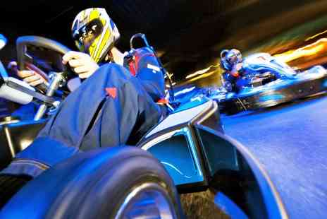Chequered Flag Karting - 40 Minutes of Karting  - Save 52%