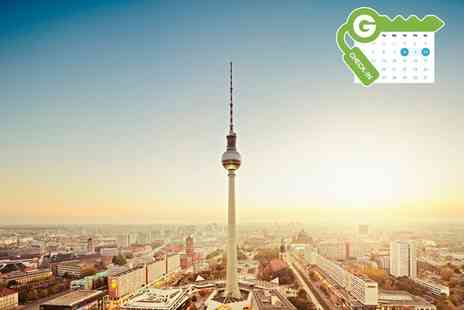 Sorat Hotel Ambassador Berlin - One night Stay For Two With Breakfast and City Tax  - Save 0%