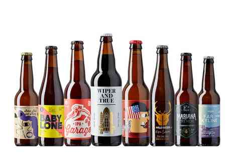 Beer 52 - Case of 4 or 8 Craft Beers with Bottle Opener and Flexible  - Save 76%