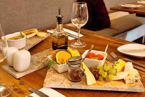 Aurora - Two Course Fine Dining Meal with Wine, Beer or Sparkling Wine for Two - Save 42%