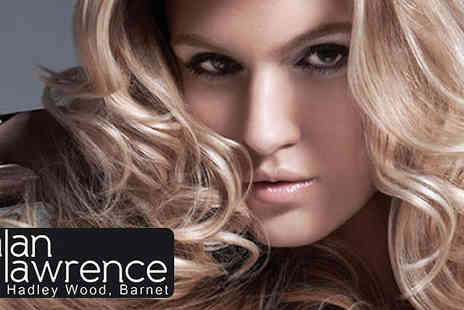Alan Lawrence Hairdressers - Full Head of Highlights, Cut and Blow Dry with Top Stylist - Save 77%