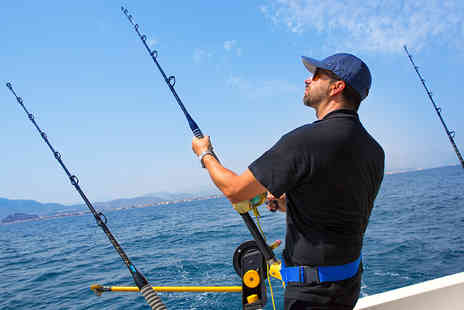 Chara Fishing Charters  - Eight Hour Fishing Trip on The Bristol Channel - Save 60%