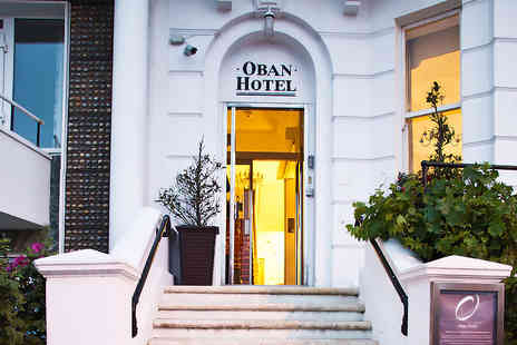 The Oban Hotel - Two Nights stay for two in a Double Room with a glass of wine on arrival and breakfast each morning - Save 51%