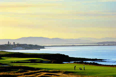 Fairmont St Andrews - One Night stay For Two with a full Scottish breakfast in The Clubhouse Restaurant  - Save 50%
