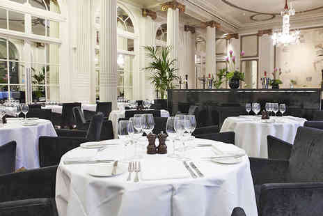 The Waldorf Hilton - Full English Breakfast with Champagne Cocktail for Two - Save 62%