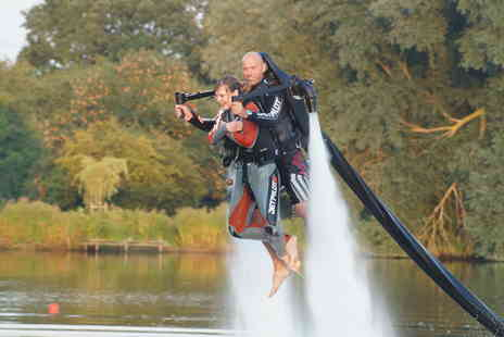 Jetlev Flyer - Twin Seat Jet Jetlev Flyer Experience - Save 6%