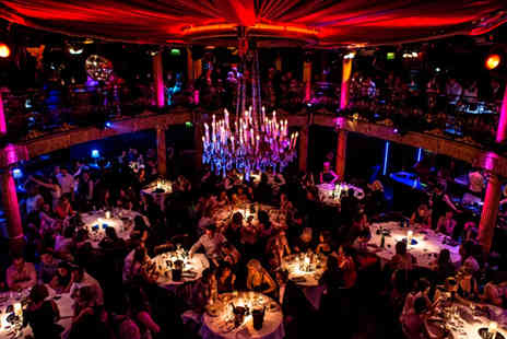 Cafe De Paris  - Spectacular Cafe de Paris Cabaret Night with a Two Course Meal and a Cocktail - Save 34%
