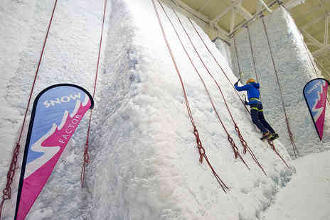 Snow Factor - 90 Minute Ice Climbing Session - Save 50%
