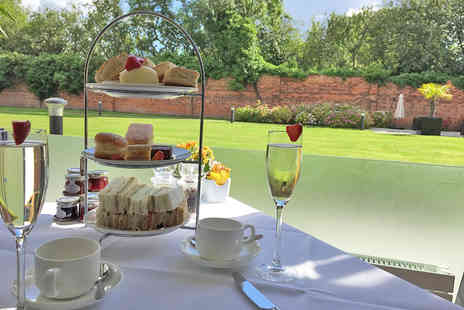 DoubleTree by Hilton Chester  - Afternoon Tea with a Glass of Prosecco for Two or Four - Save 50%