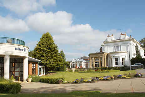 Hilton Puckrup Hall - Champagne Afternoon Tea with Health Club Access for Two - Save 60%