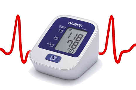 First 4 Health - Omron Digital Blood Pressure Monitor - Save 59%