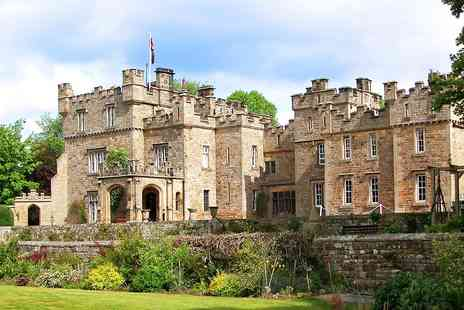 The Otterburn Tower Hotel - One night Northumberland Castle stay with Dinner - Save 51%