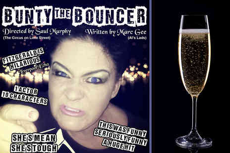 Bunty the Bouncer - Ticket to see Bunty the Bouncer with a glass of Prosecco on 18th September 2015 - Save 57%