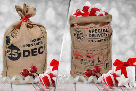 Your Print Partner - Personalised Santa sack  - Save 0%