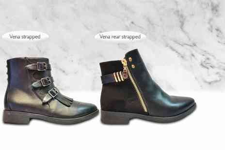 Top Notch Fashion Designer  - Pair of Chelsea ankle boots   - Save 80%