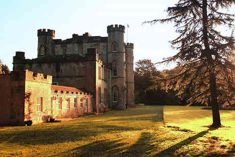 Melville Castle - One Night stay with AA Rosette awarded The Brasserie restaurant for a two course meal - Save 20%