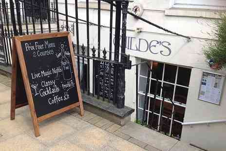 Wildes Wine Bar & Restaurant - Two Course Lunch with Prosecco for Two - Save 44%