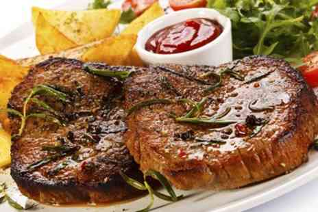 Old Barn Steakhouse - 8oz Sirloin With Sauce and Sides For Two  - Save 0%