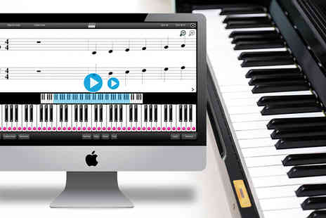 Music Future - Purely Piano and Keyboard Software Application - Save 59%